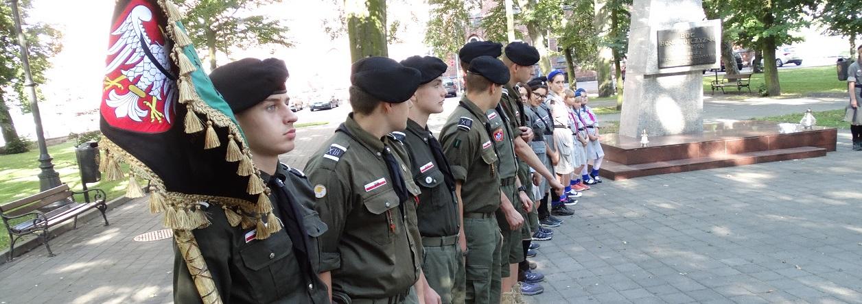 Ilustracja do informacji: Obchody 72 rocznicy wybuchu Powstania Warszawskiego