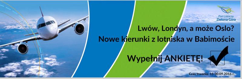 Ilustracja do informacji: Port Lotniczy Zielona Góra/Babimost
