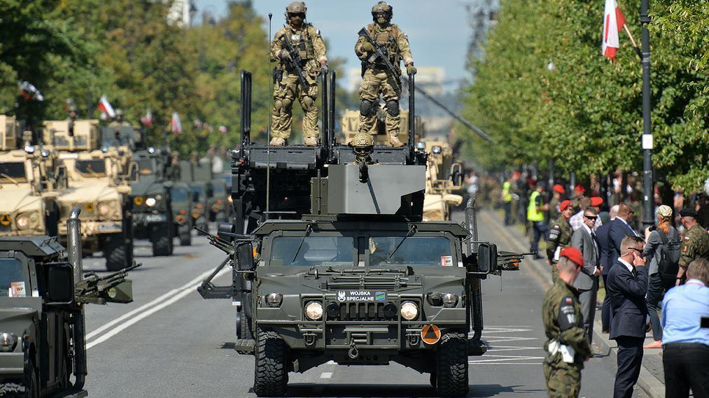 Ilustracja do informacji: Obchody Święta Wojska Polskiego w Świebodzinie.
