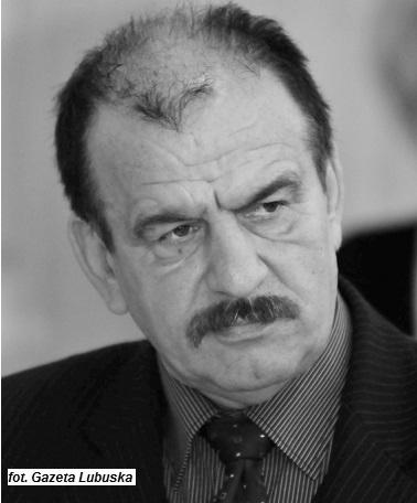 Ilustracja do informacji: Zmarł Ś.P. Bolesław Lewandowski.