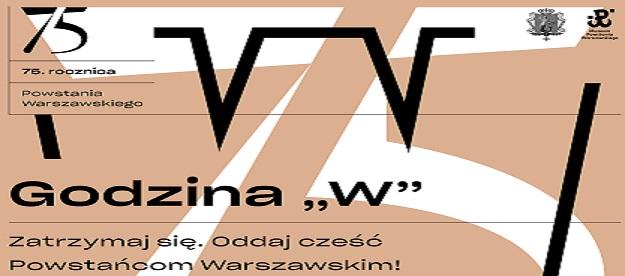 Ilustracja do informacji: 75. Rocznica wybuchu Powstania Warszawskiego.