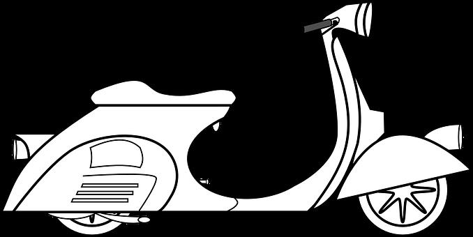 Ilustracja do informacji: skuter na sprzedaż
