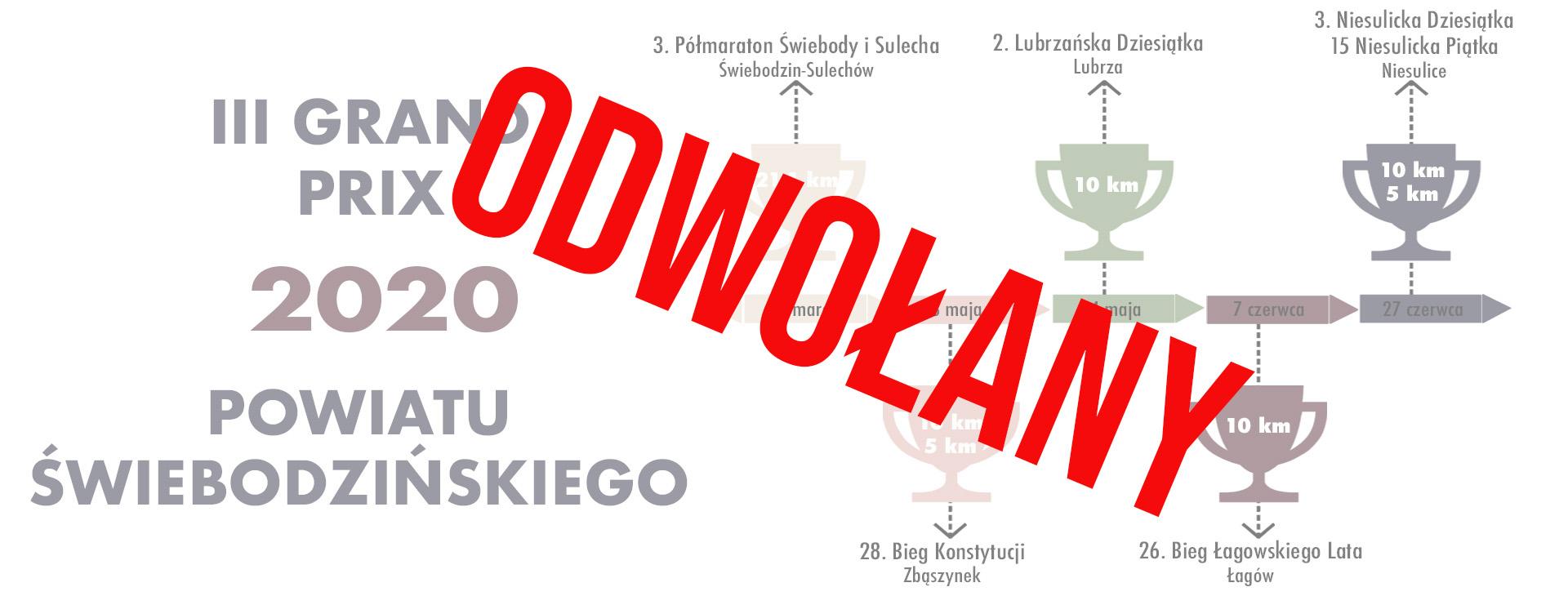 Ilustracja do informacji: Grand Prix Powiatu Świebodzińskiego 2020