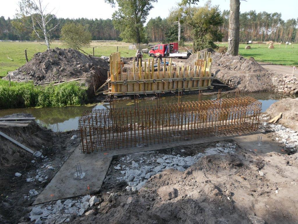 Ilustracja do informacji: Nowy most na drodze powiatowej