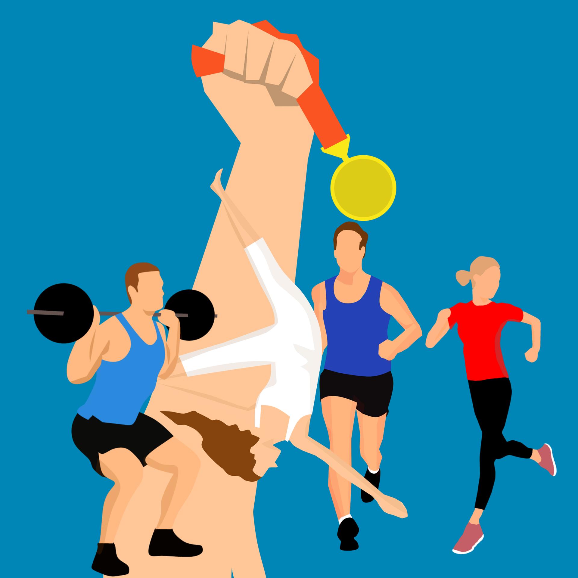 Ilustracja do informacji: Stypendia sportowe