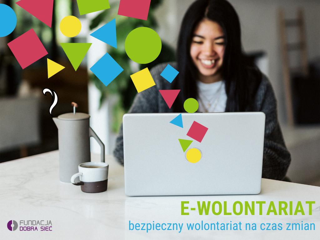 Ilustracja do informacji: E-wolontariat